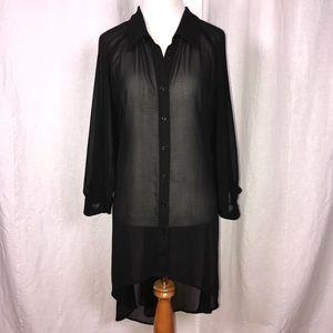 City Chic Sheer Dress